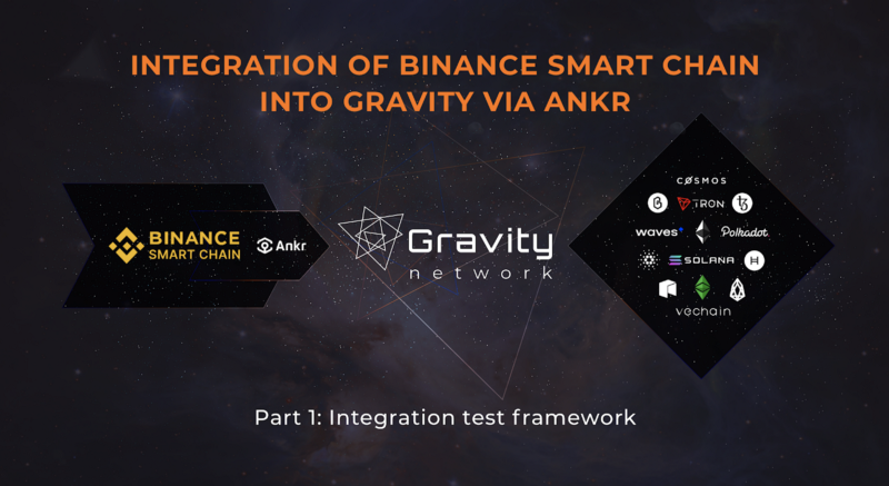 Gravity Framework test Binance Smart Chain Ankr