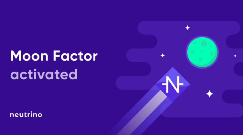 Moon Factor Neutrino